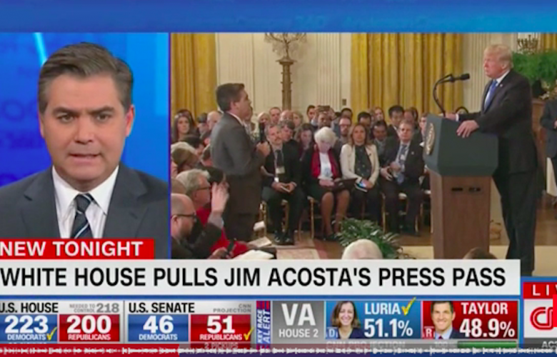 Jim Acosta's Self-Important Martyr Routine Is Growing Stale