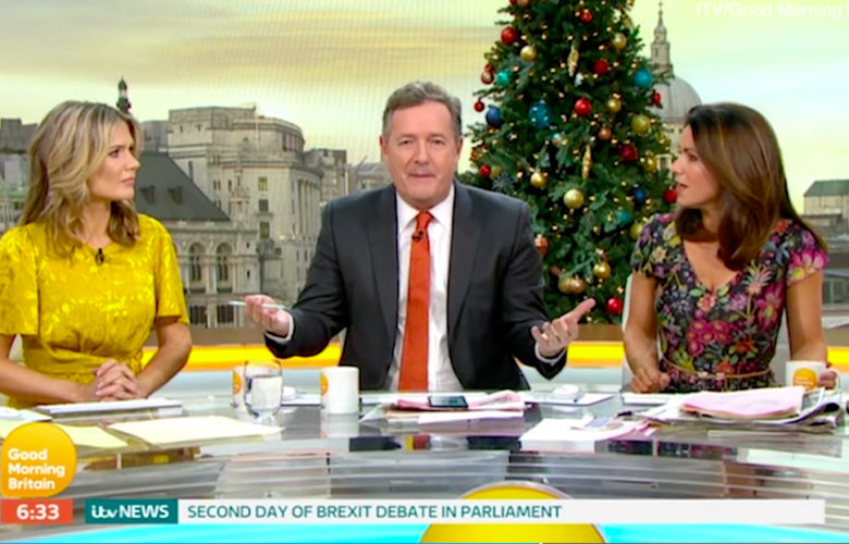 World's Tiniest Violin Needed To Console Piers Morgan After Meghan Markle 'Ghosted' Him