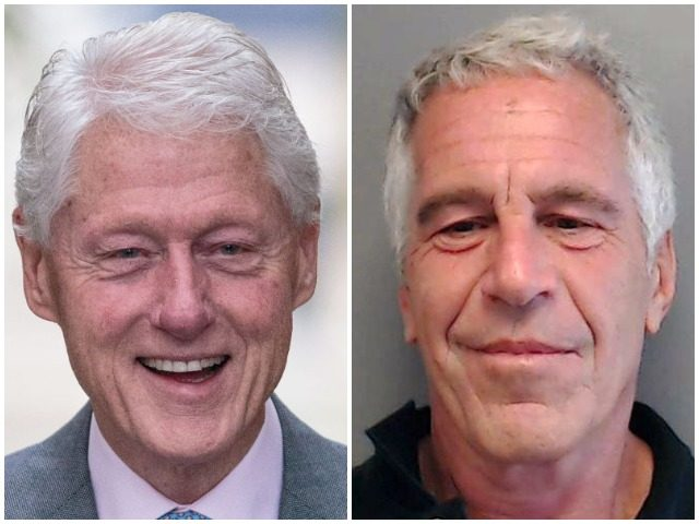 """The New York Times pointed to a seeming discrepancy between former President Bill Clinton's claim that he """"took a total of four trips on Jeffrey Epstein's airplane"""" between 2002 and 2003 and reports of flightlogs showing many more trips on the disgraced financier's private jet during that time period."""