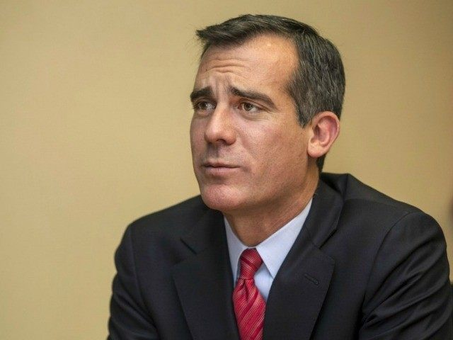LA Mayor Garcetti: Biden Is Committed to Transitioning Away from Fracking