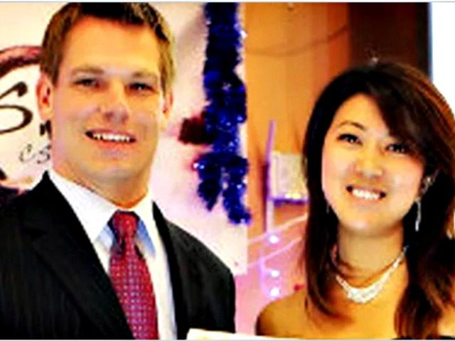 Rep. Eric Falwell (D-CA) and Christine Fang