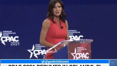 Gov. Kristi Noem Slams Corrupt Leftist Media In CPAC Speech
