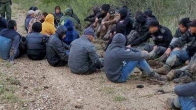 Del Rio Sector Border Patrol agents arrest a group of 51 migrants from Mexico attempting to sneak into the U.S. (Photo: U.S. Border Patrol/Del Rio Sector)