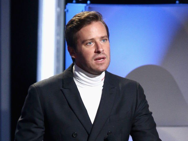 BEVERLY HILLS, CA - NOVEMBER 04: Armie Hammer speaks onstage during the 22nd Annual Hollywood Film Awards at The Beverly Hilton Hotel on November 4, 2018 in Beverly Hills, California. (Photo by Tommaso Boddi/Getty Images)