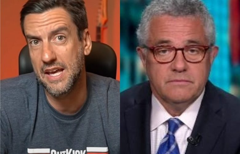 CNN Banned Clay Travis For Saying 'Boobs' But Welcomes Public Masturbator Jeffrey Toobin Back With Open Arms